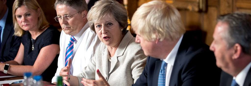 Brexit it is! At the end of March says new PM